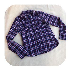 6/$15 Molokai Surf flannel shirt size small